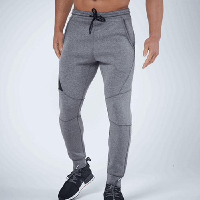 Custom Green Jersey Sweat Pants Running Drawstring Gym Trousers Fitness Casual Bottom Joggers -RTA1579