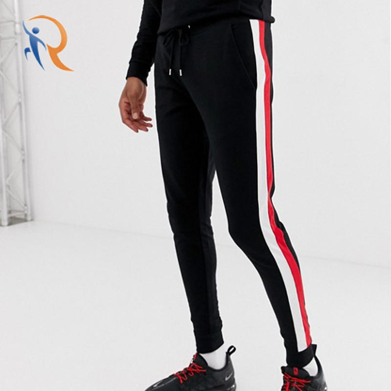 Mens Skinny Jogger With Side Stripe RTC13