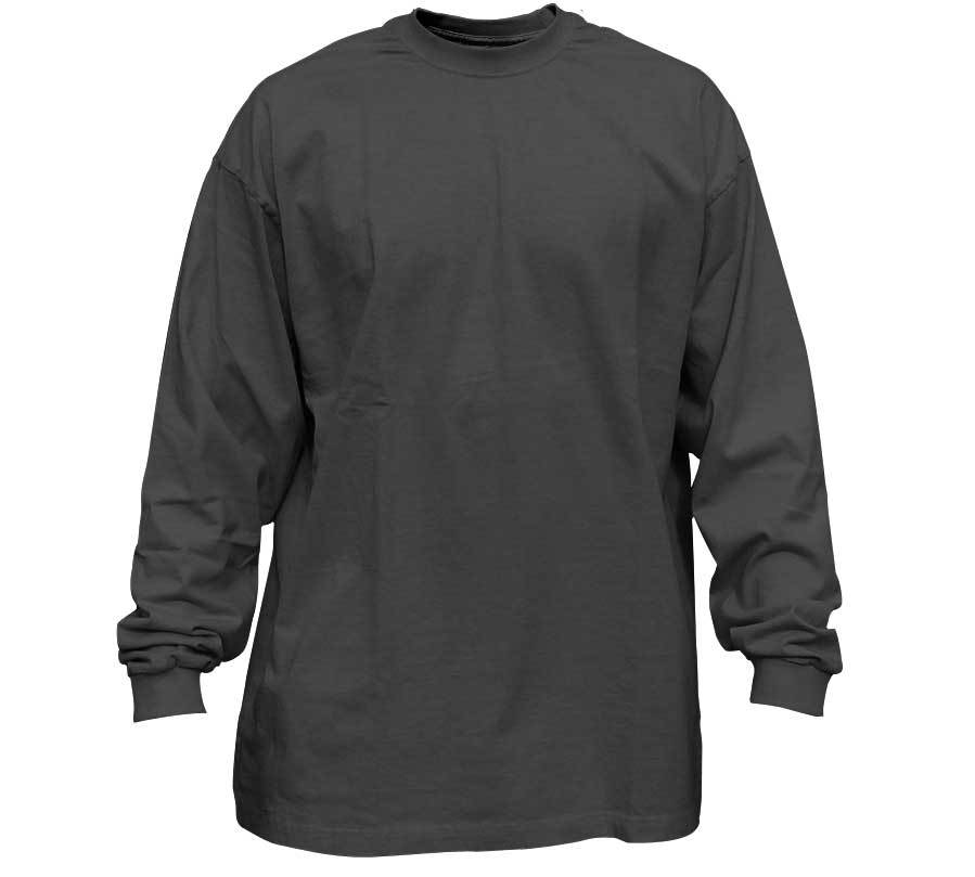 product-Men Fashion Simple Pure Color Long Sleeve T-Shirt-Ruiteng-img