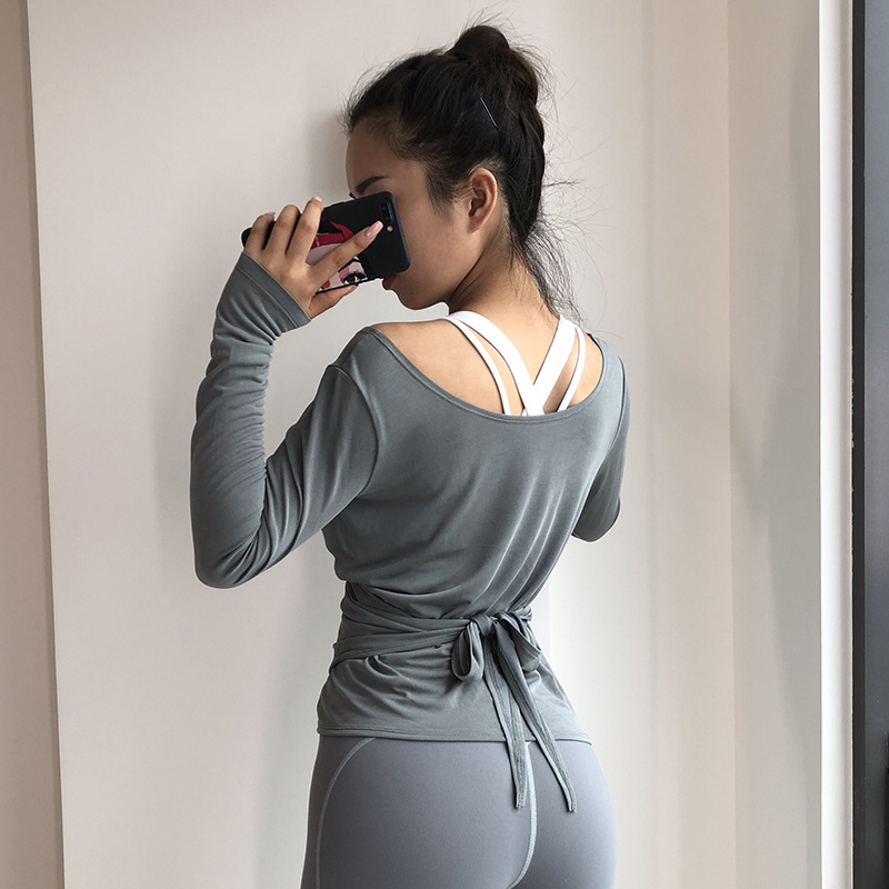 product-Ruiteng-Women New Style Sports T-Shirt Long Sleeve V Neck T-Shirt-img
