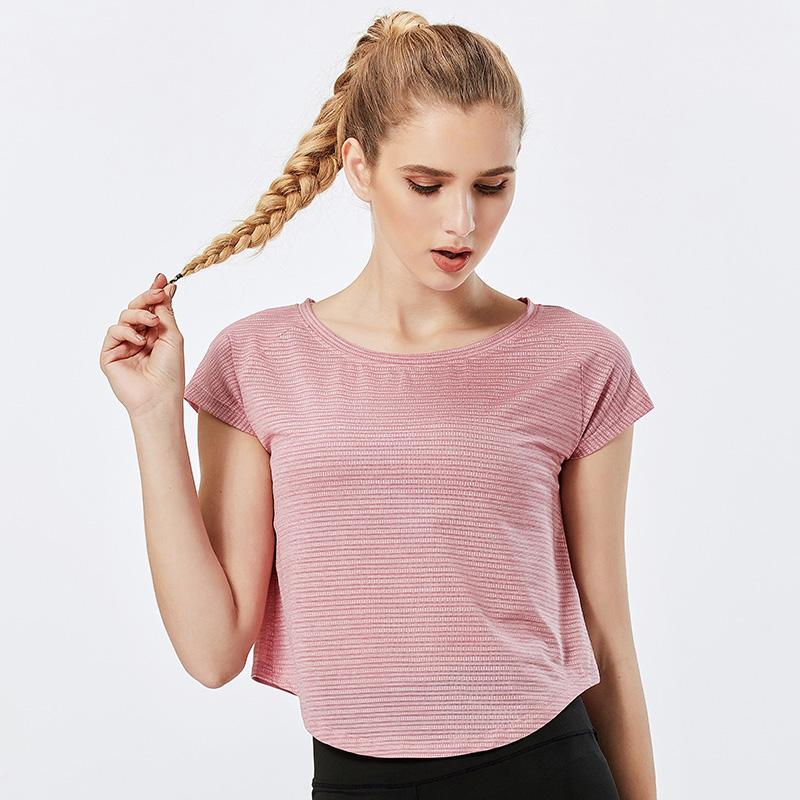 product-Ruiteng-Women Casual Sportswear Short Sleeve Gym Running T-Shirt-img