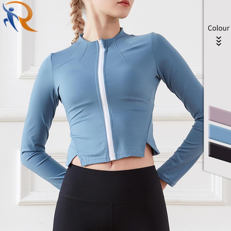 New Style Sports Coat Yoga Fitness Coat Gym Equipment Yoga Coat for Women