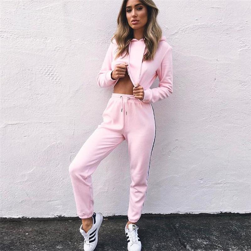 product-Ruiteng-Women Casual Stylish Hoodies Tracksuit Sweatsuit Sets Workout Suit-img