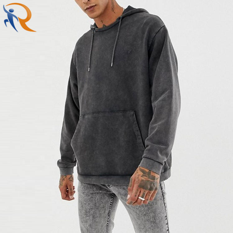 Men Casual Stylish Pullover Oversize Long Sleeve Hoodies