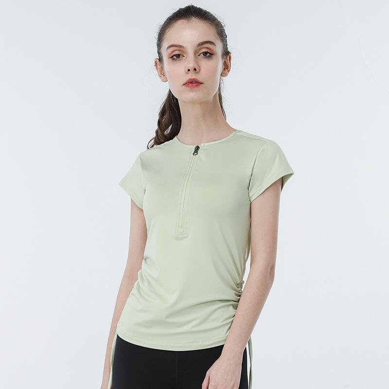 product-Ruiteng-Women Casual Quick Dry Short Sleeve Sportswear Yoga Shirts-img
