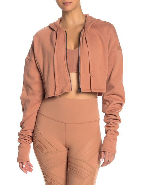 product-Ruiteng-Women New Style Jacket Long Sleeve Full Zipper Short Coat Crop Top-img