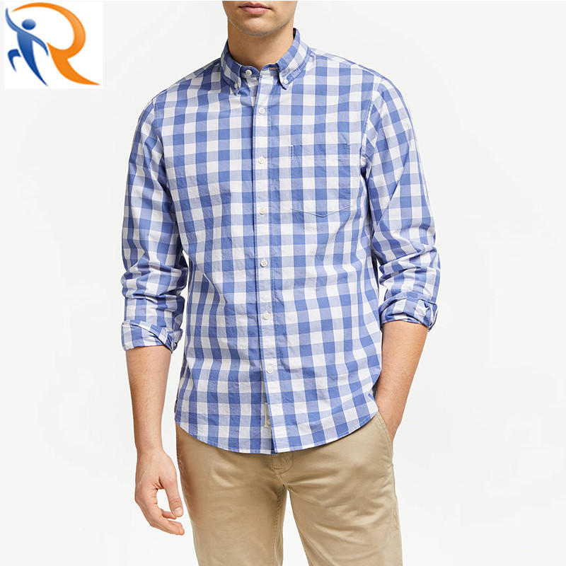 Fashion Style Casual Wear Plaid Shirts for Men