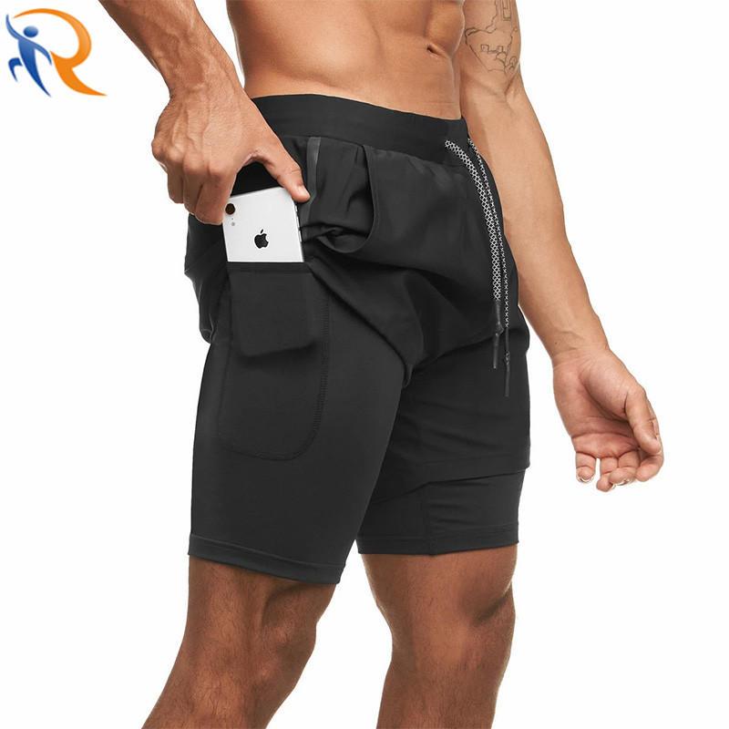 Men Sportswear Shorts Quick Dry Breathable Sports Shorts