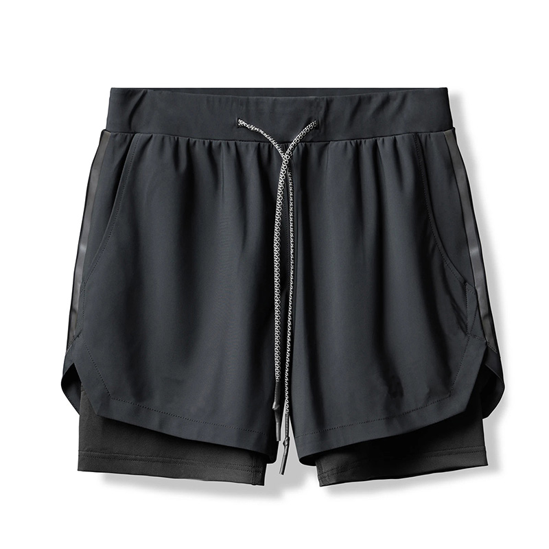 product-Men Sportswear Shorts Quick Dry Breathable Sports Shorts-Ruiteng-img