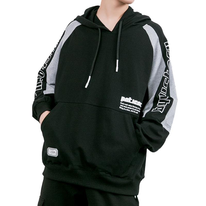product-Fashion Unisex Streetwear Pullover Hoodies Sweatshirt with Customized Print Logo-Ruiteng-img
