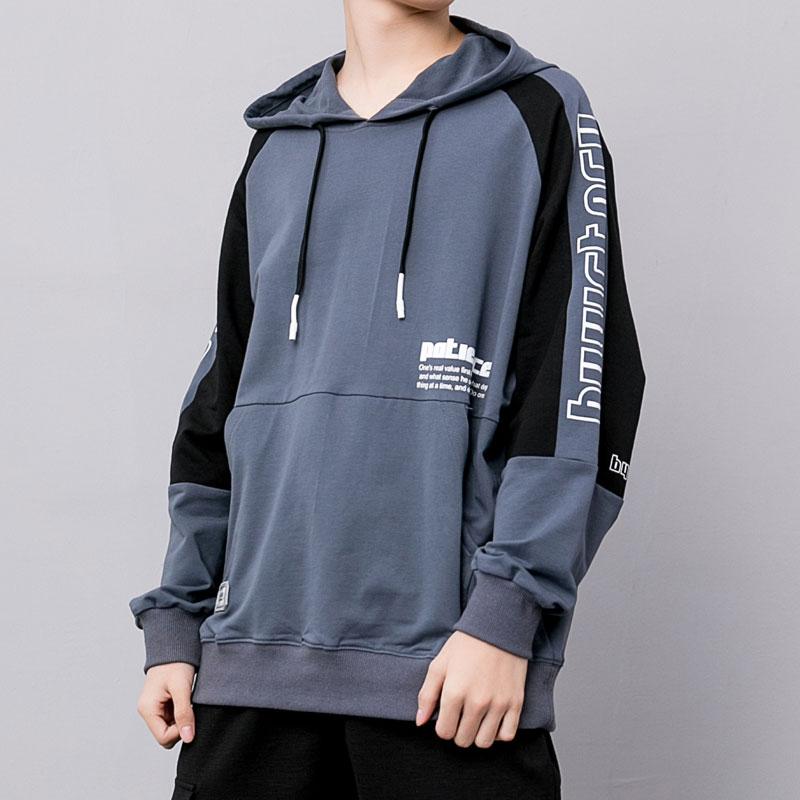product-Ruiteng-Fashion Unisex Streetwear Pullover Hoodies Sweatshirt with Customized Print Logo-img