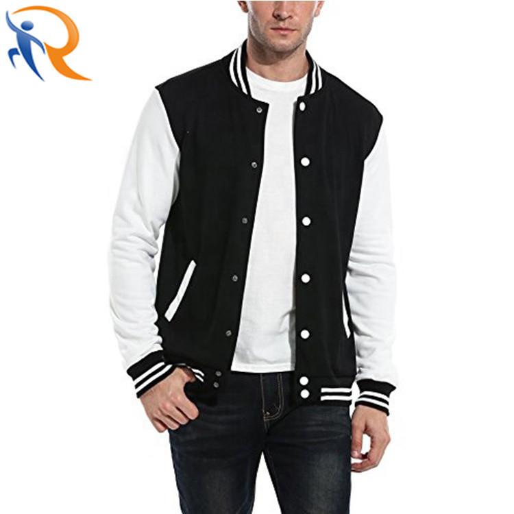 Men Baseball Uniform OEM Button Fashion Jacket