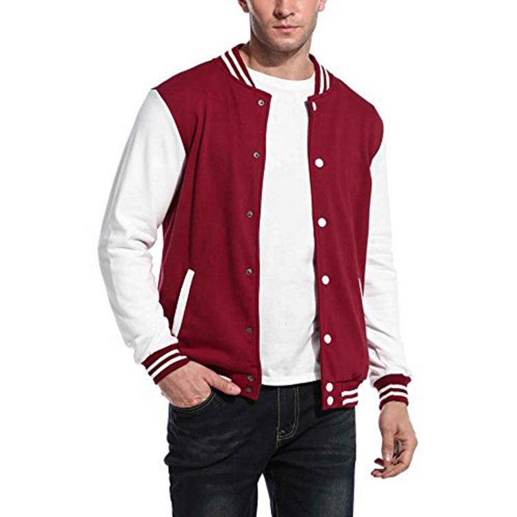 product-Men Baseball Uniform OEM Button Fashion Jacket-Ruiteng-img