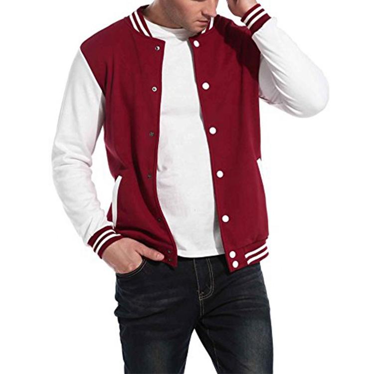 product-Ruiteng-Men Baseball Uniform OEM Button Fashion Jacket-img