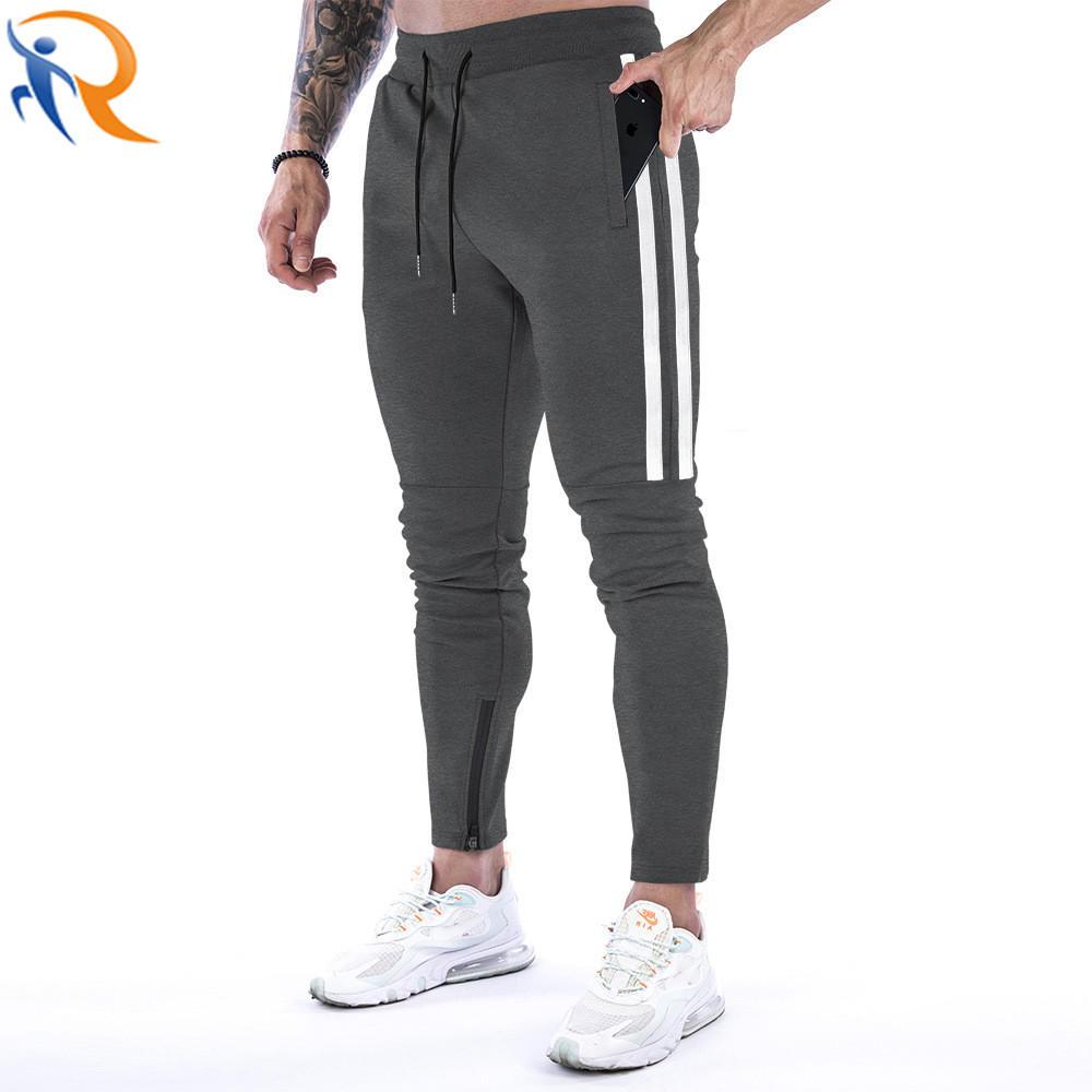 Men Casual Strap Fitness Sportswear Jogger Trousers Pants