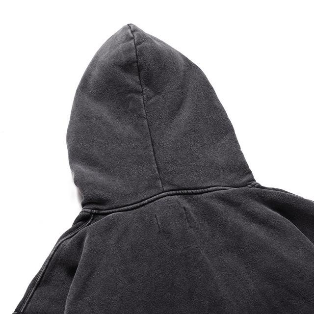 product-Ruiteng-Mens Vintage Washed Black Oversized Street Wear Hoodies-img