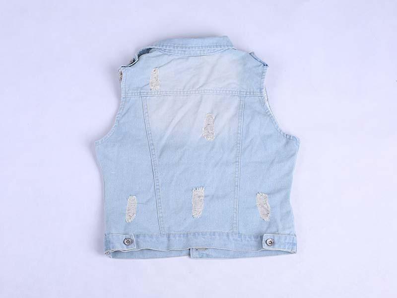 product-Ruiteng-Women Fashion Denim Washed Blue Jean Coat Sleeveless Jacket-img