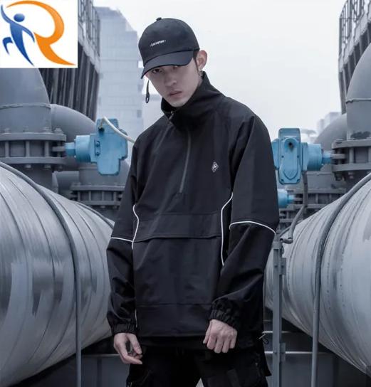 New Style Fashion High Street Jacket Half Zip up Sportswear Jacket for Men