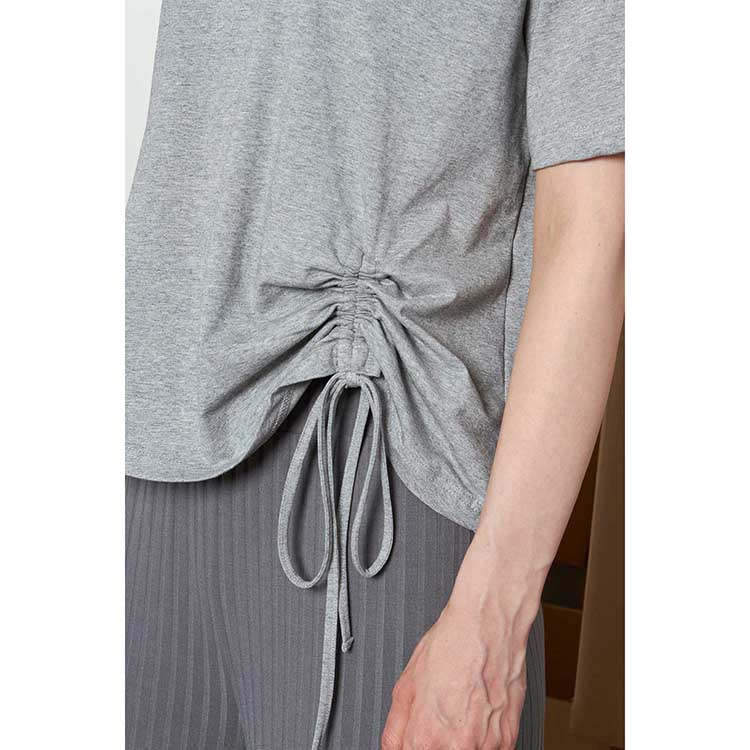 product-Ruiteng-Wholesale Women Solid Color Plain Striped Casual Home Wear T-shirt-img