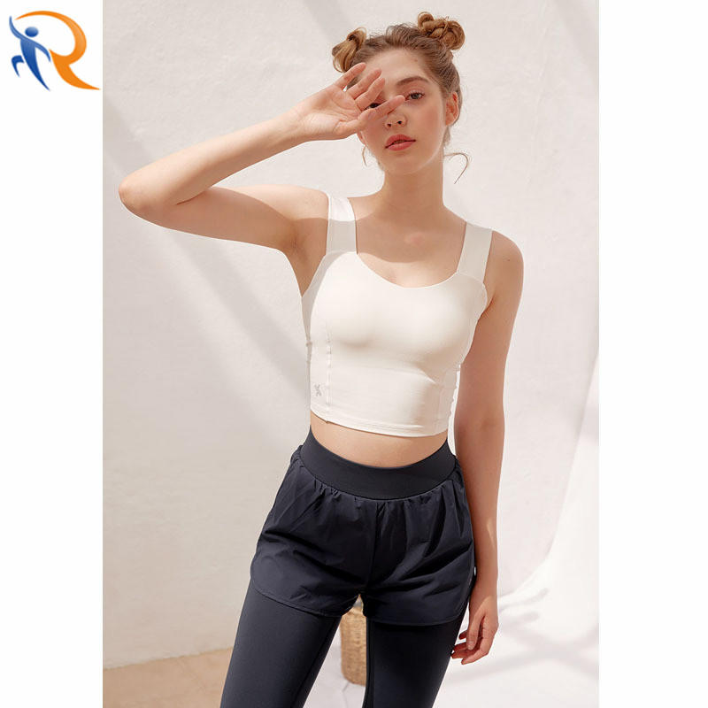 Wholesale Fashion Women Sportswear Bra Push Up Yoga Top