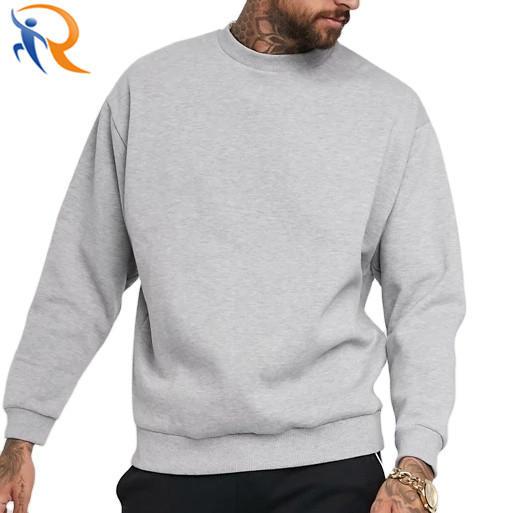 Custom Design Handmade Oversized 100% Cotton Sweatshirts For Men