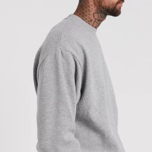 product-Ruiteng-Custom Design Handmade Oversized 100 Cotton Sweatshirts For Men-img