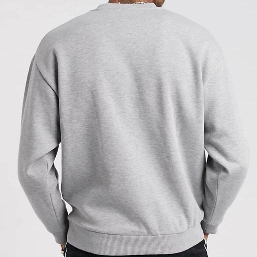 product-Custom Design Handmade Oversized 100 Cotton Sweatshirts For Men-Ruiteng-img