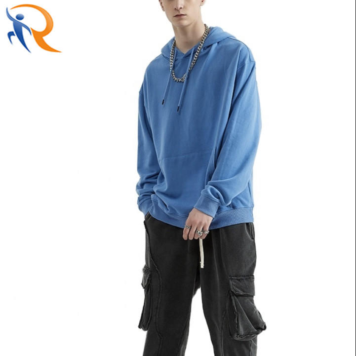 Unisex Fashion Casual Solid Color Pullover Oversized Hoodies