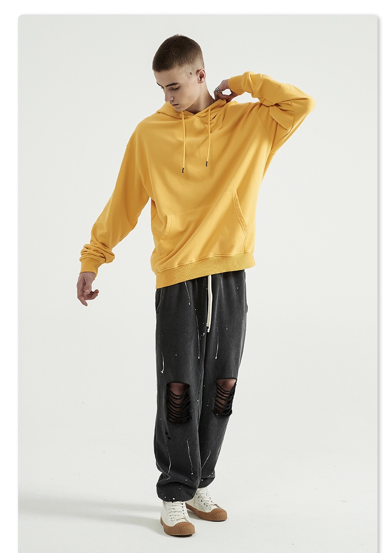 product-Unisex Fashion Casual Solid Color Pullover Oversized Hoodies-Ruiteng-img