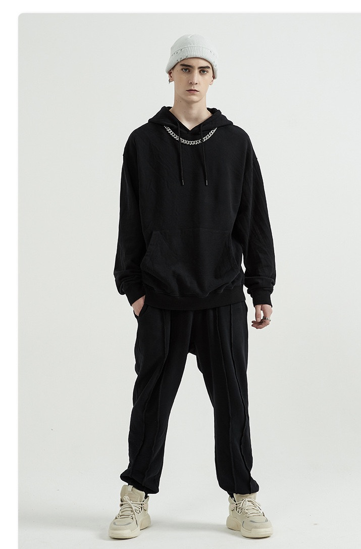 product-Ruiteng-Unisex Fashion Casual Solid Color Pullover Oversized Hoodies-img