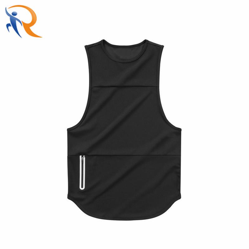 Customized OEM Men Fashion Breathable Gym Fitness Sleeveless Workout Vest