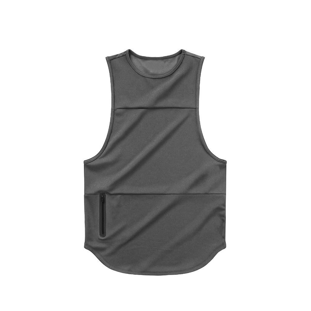 product-Ruiteng-Customized OEM Men Fashion Breathable Gym Fitness Sleeveless Workout Vest-img
