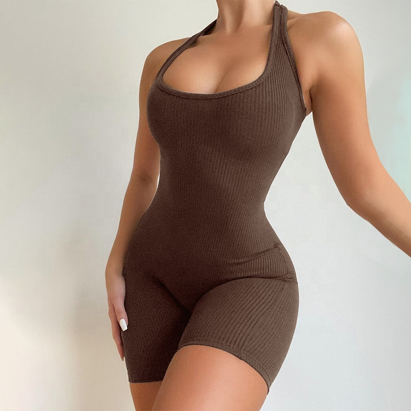 product-Ruiteng-Women New Design Ribbed Sleeveless Sexy Slim One Piece Jumpsuit-img