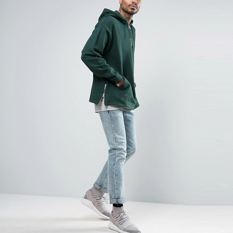 product-Ruiteng-Men Women Fashion Solid Color Pullover Half Zipper Hoodies-img
