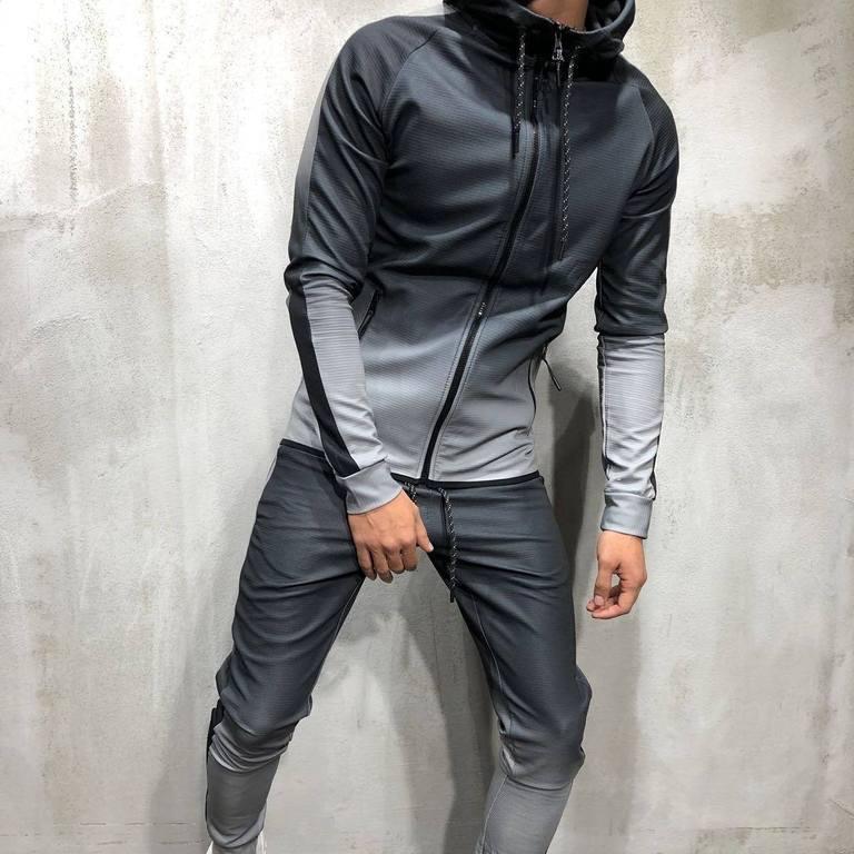 product-Ruiteng-Men Wholesale Gym Fitness Wear 2 Piece Tracksuit Sport Jogging Set-img