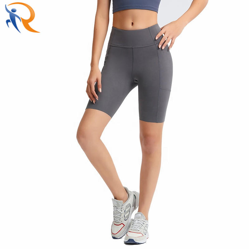 Women High Waist Tummy Control Booty Short Leggings No Trace Slinky Soft Comfy Short Bottoms