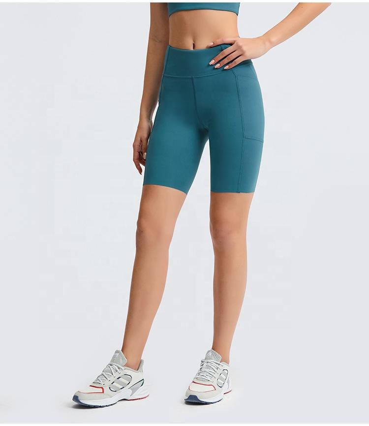 product-Women High Waist Tummy Control Booty Short Leggings No Trace Slinky Soft Comfy Short Bottoms