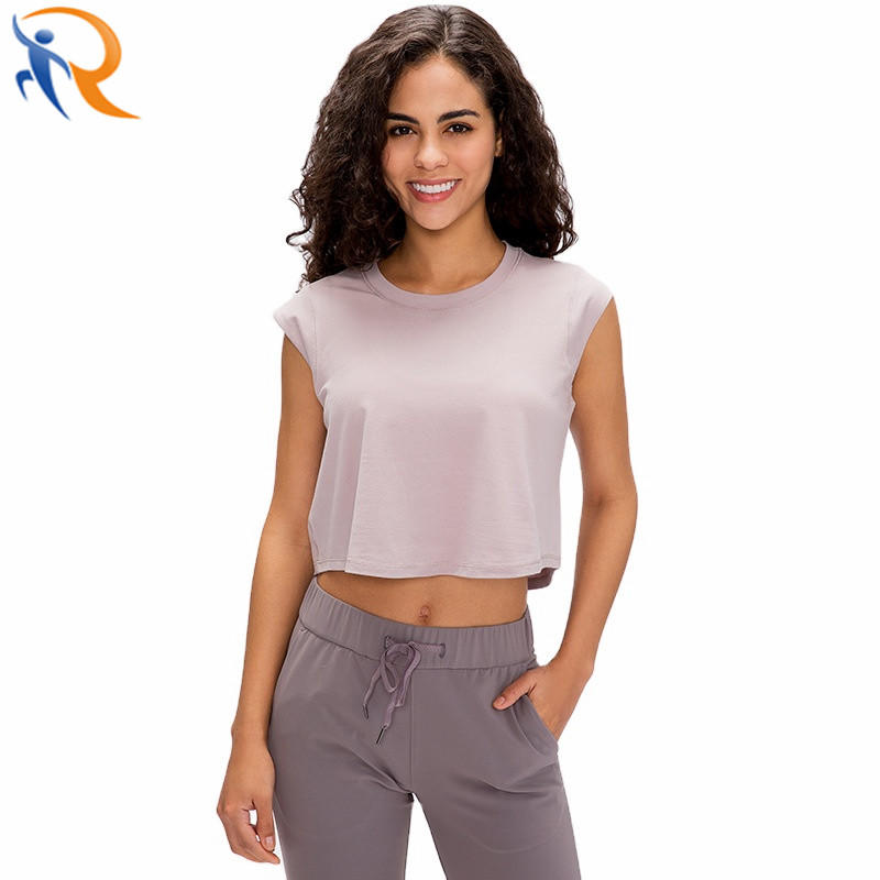 Women Sports Vest High Quality Fitness Top Gym Wear Workout Vests