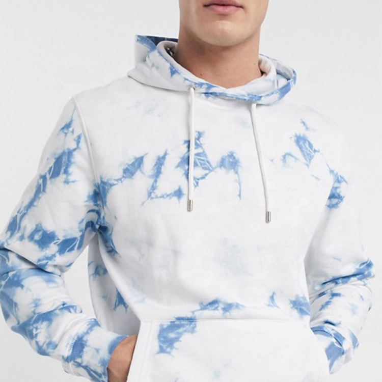 product-Tie Dyed Hoodie and Short Set for Men High Quality Autumn Tracksuit-Ruiteng-img
