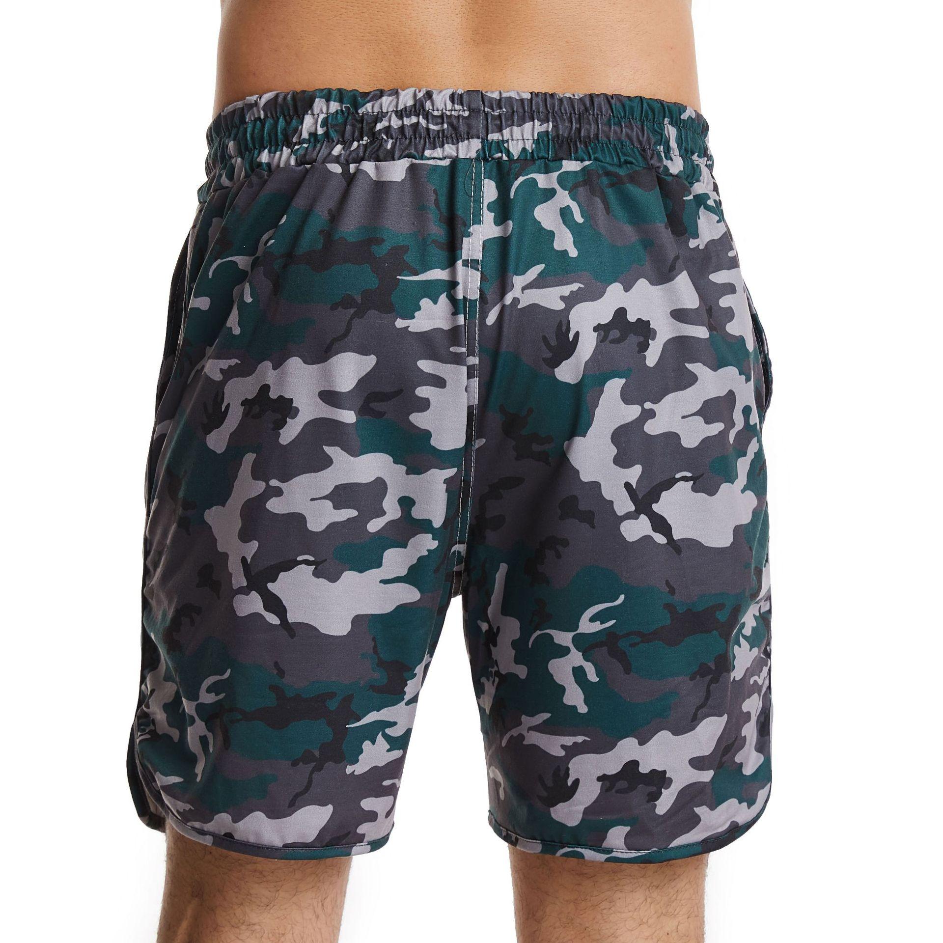 product-Ruiteng-Customized Camouflage Sublimation Drawstring Sports Short for Men Beach Short-img