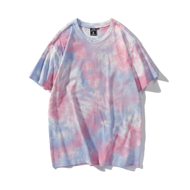 product-New Casual Streetwear Tie Dyed Oversize Pullover T-shirt for Women-Ruiteng-img