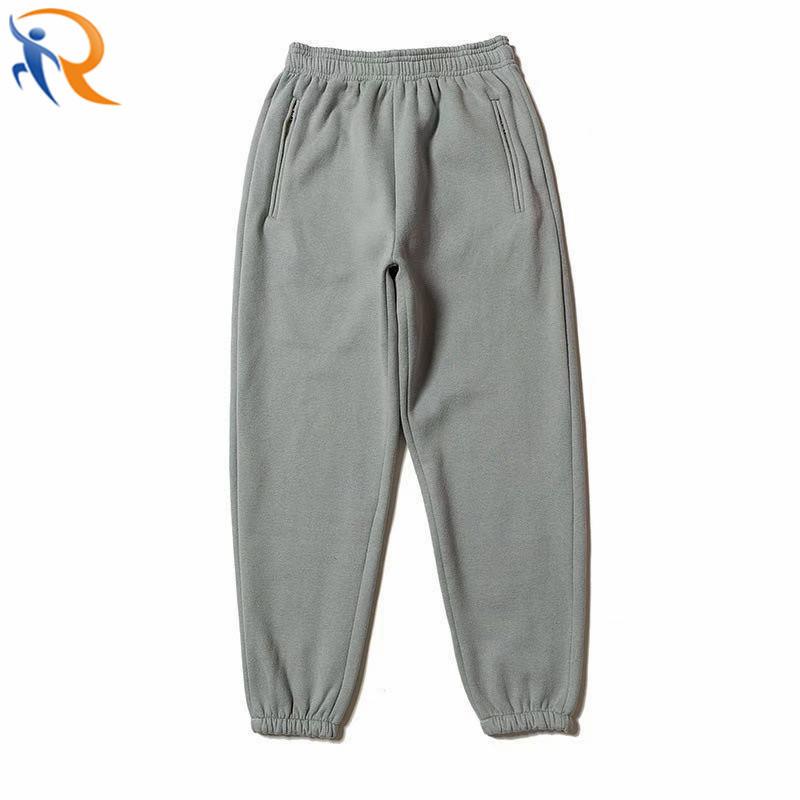 Custom Vintage Loose Workout Fleece Pants Unisex Thermal Fleece Joggers Sweatpants