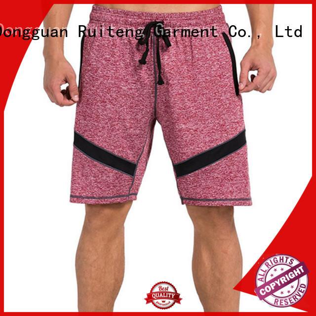 Wholesale summer light boys compression shorts Ruiteng Brand