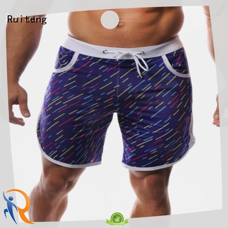 Ruiteng cotton gym shorts for gym