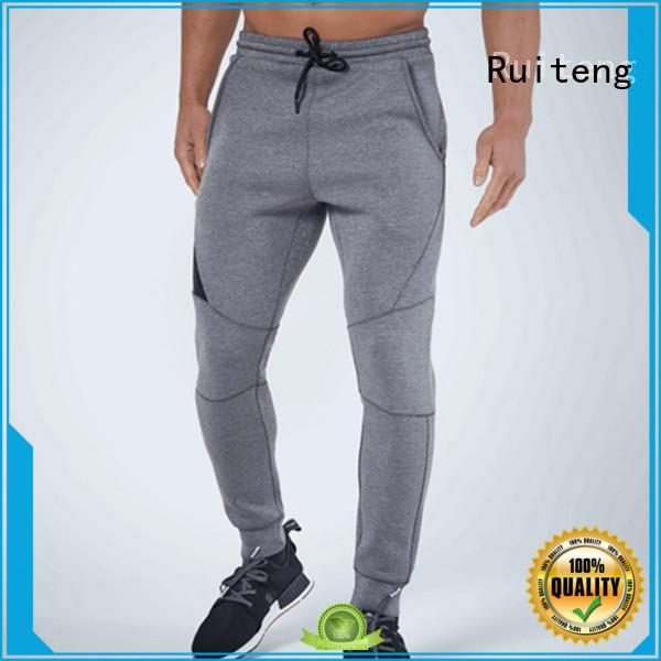 casual gym women leggings Ruiteng Brand gray joggers supplier