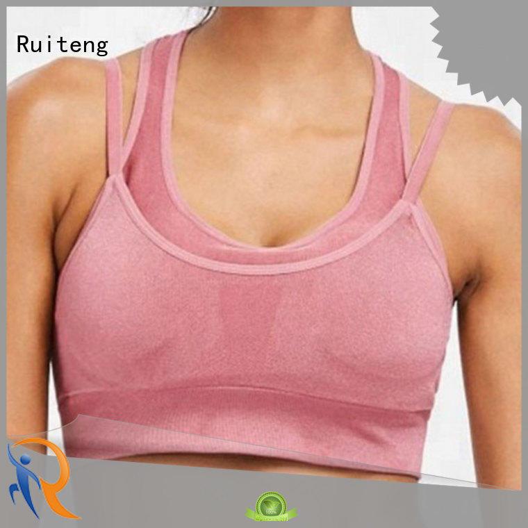 Quality Ruiteng Brand elastic gym bra