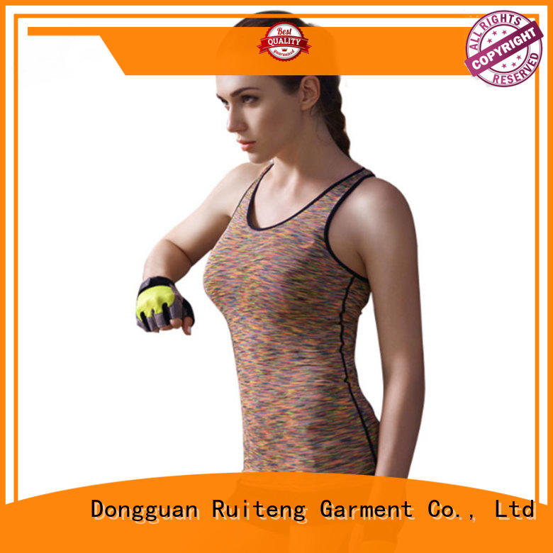 oem fitness cuff mens muscle tank tops Ruiteng manufacture