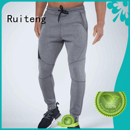 mens grey skinny joggers –rte07 bottoms slim joggers drawstring Ruiteng Brand