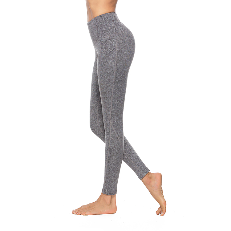 product-Wholesales Gym Tummy Control High Waist Custom Workout Leggings Women Fitness Yoga Pants wit