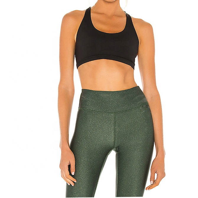 product-Customize Fitness Yoga Wear Sexy Crop Top Gym High Impact Fitness Yoga Bra-Ruiteng-img
